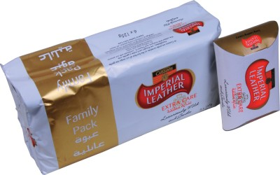 Cussons Imperial Leather Extra Care - Family Pack of 6