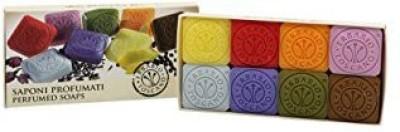 Erbario Toscano SAPONI PROFUMATI Perfumed Soaps 8 pieces by