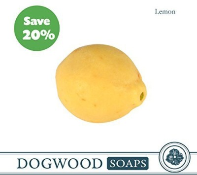 Dogwood Soaps Lemon Soap - Hand-Millled Double-Milled Hand Crafted Natural Ingredients Essential Oils Unique Design