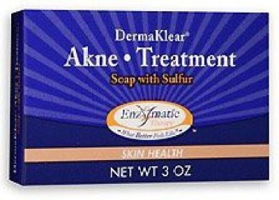 Enzymatic Therapy - DermaKlear Akne Treatment Soap with Sulphur (Pack of 3)