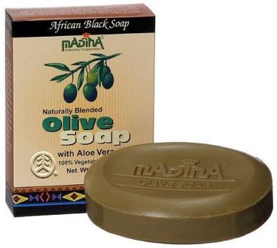 Madina Olive Soap Aloe Vera African Black Soap Madina Olive Soap with Aloe Vera