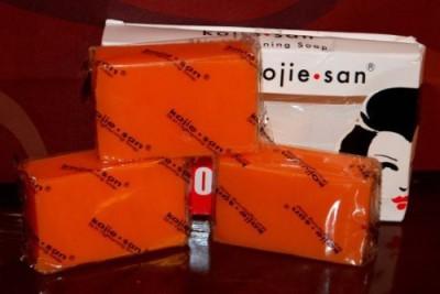 BEVI Kojie San Orange Kojic Whitening Soap