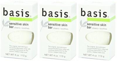 Basis Sensitive Skin Bar Soap (3 pack)