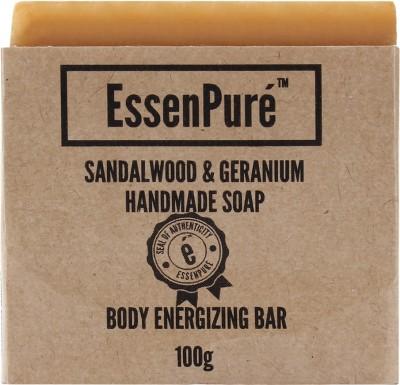 EssenPure Sandalwood & Geranium Handmade Soap