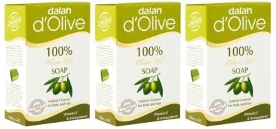 Dalan Pure Olive Oil Soap, 150g X 3 pcs.