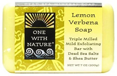 One With Nature Dead Sea Mineral Soap Lemon Sage (Pack of 6)