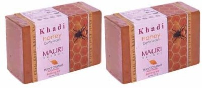 Khadimauri Honey Soap - Pack of 2 - Premium Handcafted Herbal