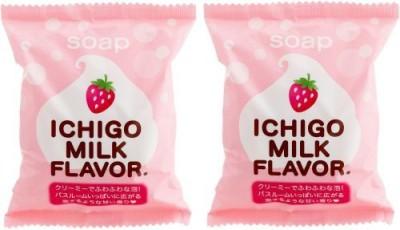 PERIKAN SEKKEN Ichigo Milk Soap Scent Puchiberyi S