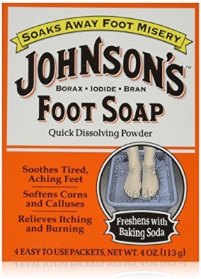 Johnsons Foot Soap 4-Count (3-Pack)