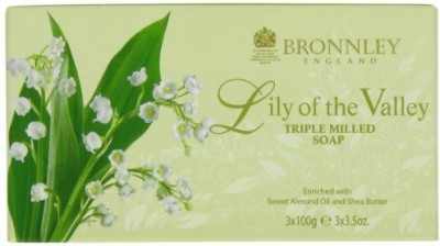 Bronnley England Lily Of The Valley By Triple Milled Soaps 3
