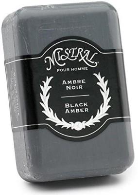 Mistral Men,s Soap Black Amber