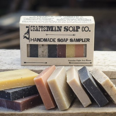 Craftsman Soap Company Soap Sampler 8-pieces All-natural Soap