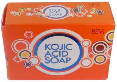BEVI Kojic Acid Soap For Skin Brighiting And Hyper Pigmentation 1 Pc