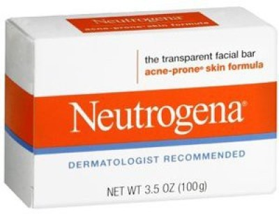 Neutrogena Acne-Prone Skin Formula Transparent Facial Bar