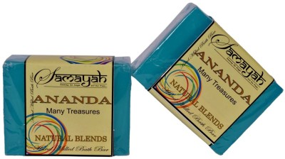 Samayah Hand Made Bath Soap Ananda (Blends) Set of 2
