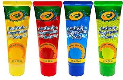 Crayola Children's Bathtub Fingerpaint Soap Assorted Colors