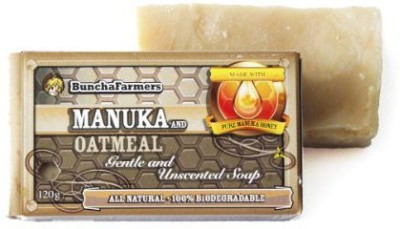 Buncha Farmers All Natural Oatmeal & Manuka Honey Soap