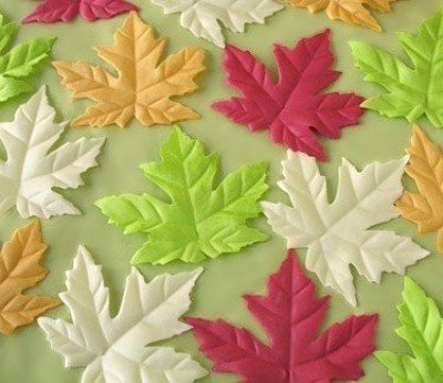 Sophie,s Favors Maple Leaf Soaps - 16 maple leaves per box (assorted)