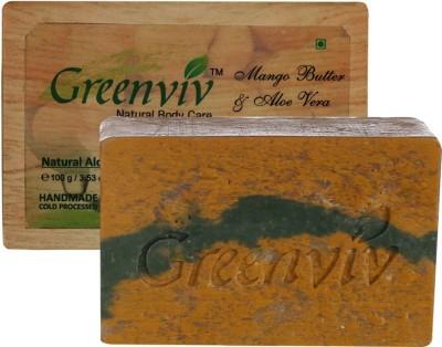 Greenviv Natural Mango Butter & Aloe-vera Soap