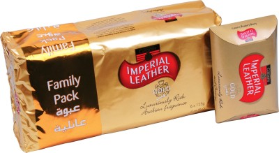 Cussons Imperial Leather Gold - Family Pack of 6