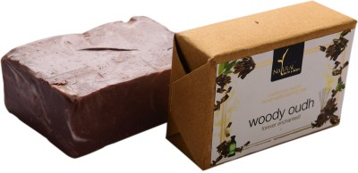 Natural Bath & Body Woody Oudh Bathing Bar