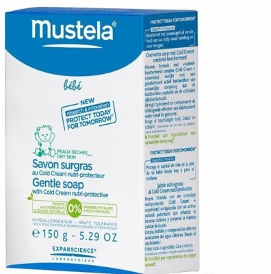 Mustela Gentle Soap With Cold Cream - Nutri-Protective Face And Body
