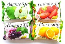Harmony Set 4 Pcs Fruity Soap Bath Bar Shower(100 g)