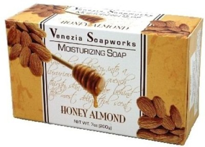 Venezia Soapworks 2 Bar Set Moisturizing Soap Honey Almond each