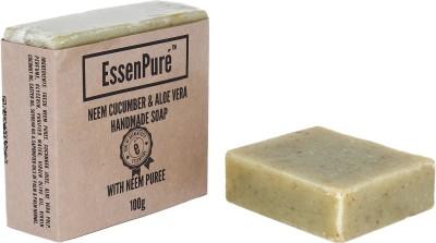 EssenPure Neem Cucumber & Aloe Vera Soap