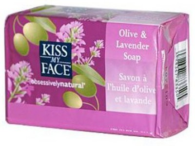 Kiss My Face Moisturizing Bar Soap for All Skin Types - Olive & Lavender