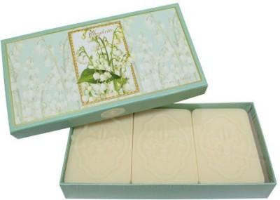 Saponificio Artigianale Fiorentino Lily Of The Valley ( Mughetto ) Bars Gift Soap Set.