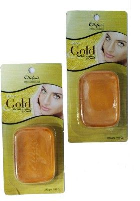 Olifair Ultra Gold Whitening Soap ( Pack of 2)