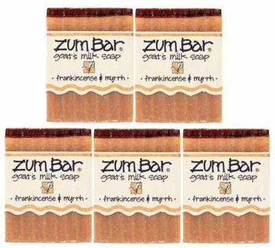 Indigo Wild : Zum Bar Goat's Milk Soap Frankincense & Myrrh (5 pack)
