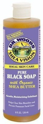 Dr. Woods Shea Vision Black Soap With Organic Shea Butter