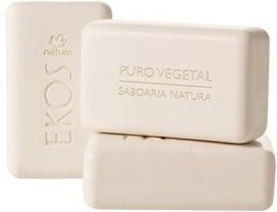 Natura Linha Ekos - Sabonete em Barra Puro Vegetal Castanha Ekos Collection - Brazilian Nut Vegetable Bar Soap