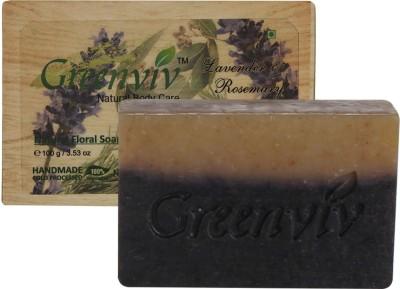 Greenviv Natural Lavender & Rosemary Soap