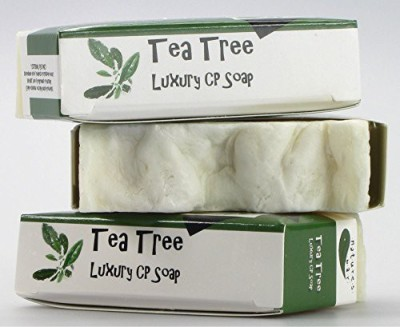 Natures Bar Luxury CP Tea Tree Soap
