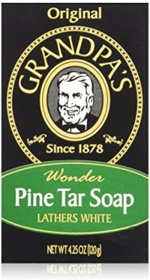 Grandpa's Soap Pine Tar (Pack of 4)
