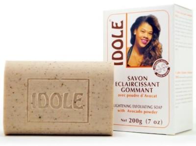 Idole Lightening Exfoliating Soap with Avocado Powder