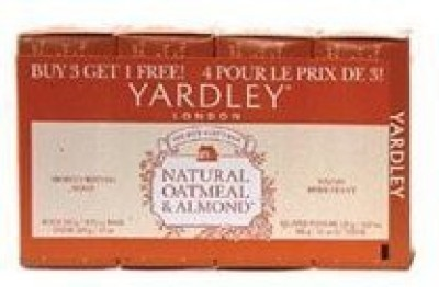 Yardley Soap Oatmeal And Almond (Pack of 3)