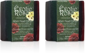 Nyassa Exotic Rose Handmade Soap Pack Of 2