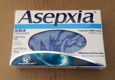 Asepxia Scrub/ Exfoliante Soap (Pack of 3)