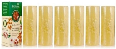 Biotique Almond Oil Soap (Set of 6)