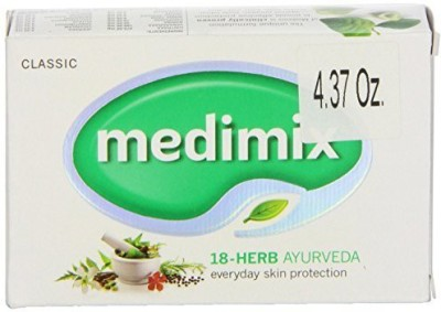 Medimix Ayurvedic Herbal Soap with 18 Herbs Unit (Pack of 12)