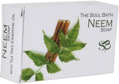 SOUL BATH Handmade Neem And Tea Tree Soap