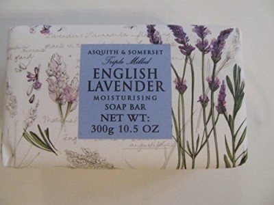 Asquith & Somerset English Lavender Moisturizing Triple Milled Soap