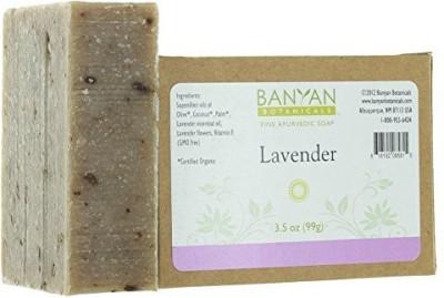 Banyan Botanicals Lavender Soap - Relaxing Calming Scent