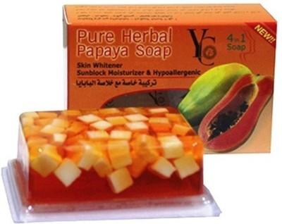 YC Pure Herbal Papaya Soap