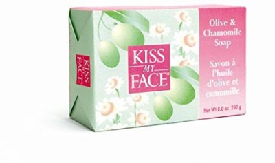 Kiss My Face Moisturizing Bar Soap for All Skin Types - Olive & Chamomile
