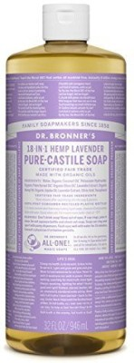 Dr. Bronner s Magic Soaps Pure - Castile Soap 18 - In - 1 Hemp Lavender